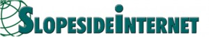 Slopeside Internet logo