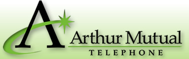 The Arthur Mutual Telephone Company logo