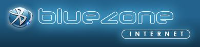 The Blue Zone logo