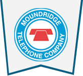 The Moundridge Telephone Company logo