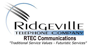 The Ridgeville Telephone Company logo