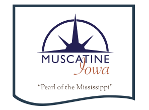 The City of Muscatine logo
