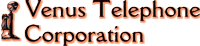 Venus Telephone Corporation logo