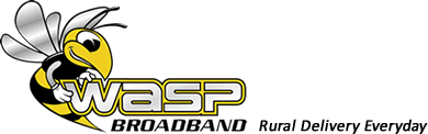 Wasp Broadband logo