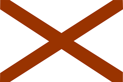 Alabama state flag.