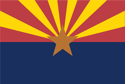 Arizona state flag.