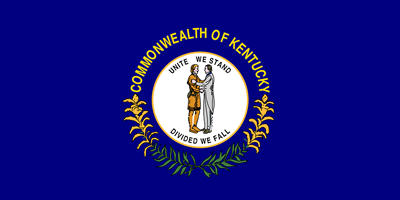 Kentucky state flag.