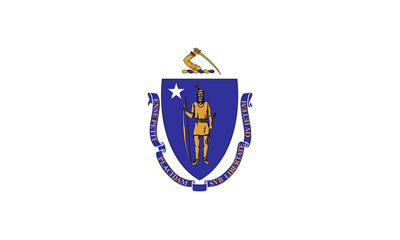 Massachusetts state flag.