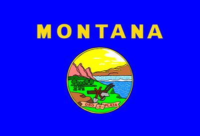 Montana state flag.