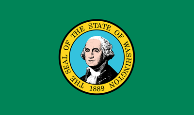 Washington state flag.